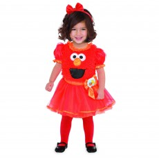 Sesame Street Elmo Girl Child Costume