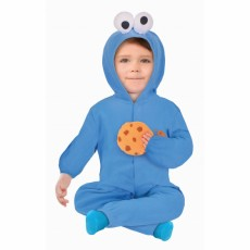 Sesame Street Cookie Monster Boy Child Costume 18-24 months