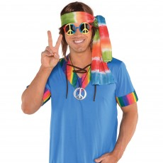 Feeling Groovy & 60's 60's Hippie Kit Head Accessories