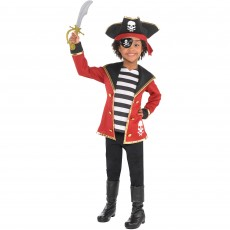 Pirate Party Supplies - Child Costumes Pirate Costume Kit