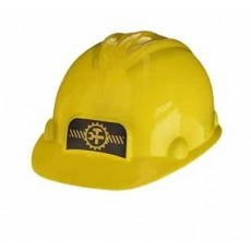 Under Construction Yellow Construction Hat Costume Accessorie
