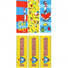 Dr Seuss Bookmark Favours Pack of 12