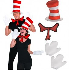 Dr Seuss Party Supplies - Cat in the Hat Accessory Kit