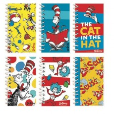 Dr Seuss Mini Notepads Favours