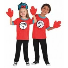 Dr Seuss Thing 1 & 2 Costume Kit Girls Costume