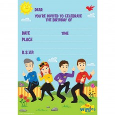 The Wiggles Party Packs For 8 Guests Pack of 40