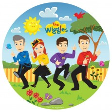 Round The Wiggles Dinner Plates 23cm Pack of 8