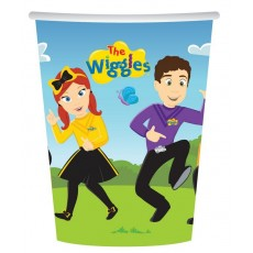 The Wiggles Paper Cups 266ml Pack of 8