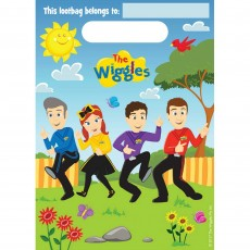 The Wiggles Loot Favour Bags Pack of 8