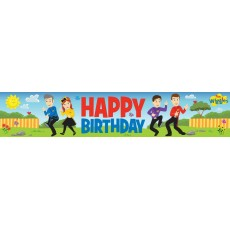 The Wiggles Plastic Banner