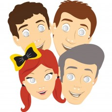 The Wiggles Party Masks Pack of 8