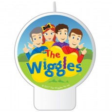 The Wiggles Candle 8cm x 7cm