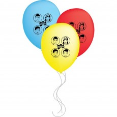 Teardrop Assorted The Wiggles Latex Balloon 30cm