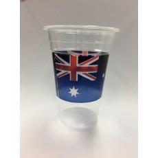 Australia Day Plastic Cups 473ml Pack of 8