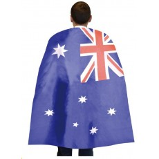 Australia Day Fabric Cape Costume Accessorie