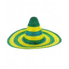 Australia Day Sombrero Straw Head Accessorie
