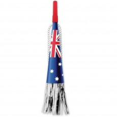 Australia Day Party Supplies - Horn Necklace with Foil Fringe