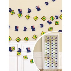 Australia Day String Hanging Decorations 2.13m Pack of 6