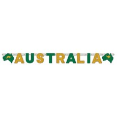 Australia Day Jointed Letter Banner 1.67m x 20cm