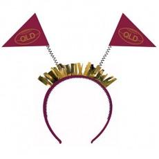 State of Origin Party Supplies - QLD Head Bopper Headband