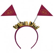 State of Origin QLD Head Bopper Headband Costume Accessorie
