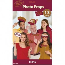 State of Origin QLD Photo Props Pack of 13