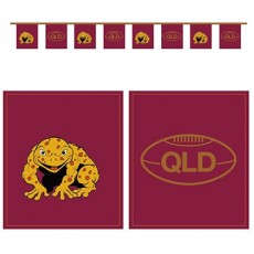 State of Origin QLD Cane Toad Flag Pennant Banner
