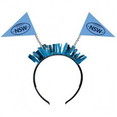 State of Origin NSW Head Bopper Headband Costume Accessorie