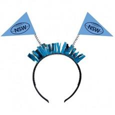 State of Origin Party Supplies - NSW Head Bopper Headband