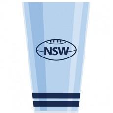 State of Origin NSW Tumbler Plastic Glass 591ml