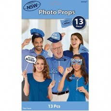State of Origin NSW Photo Props Pack of 13