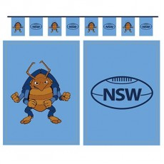 State of Origin NSW Cockroach Flag Pennant Banner