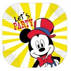 Disney Mickey Carnival Dinner Plates