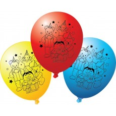 Play School Latex Balloons