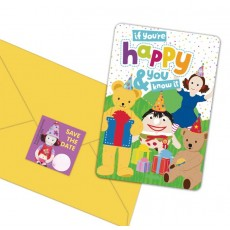 Play School Postcard Invitations Pack of 8