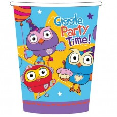 Giggle & Hoot Paper Cups 266ml Pack of 8