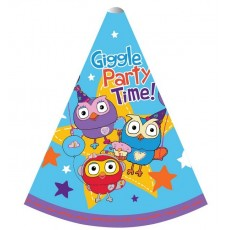 Giggle & Hoot Party Hats 15cm Pack of 8