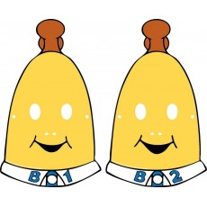 Bananas in Pyjamas Paper Face Party Masks