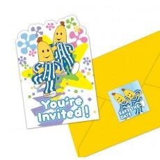 Bananas in Pyjamas Postcard Invitations Pack of 8