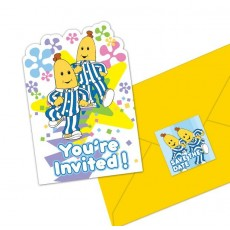 Bananas in Pyjamas Postcard Invitations