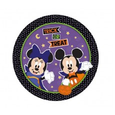 Halloween Disney Lunch Plates