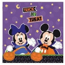 Halloween Disney Lunch Napkins