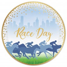 Horse Racing Race Day Lunch Plates 17cm Pack of 50