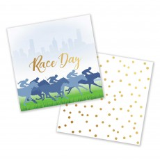 Horse Racing Race Day Beverage Napkins Pack of 50