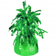 Green Heavier Foil Balloon Weight