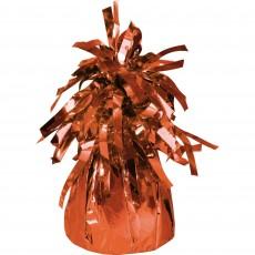 Orange Heavier Foil Balloon Weight 220-230g
