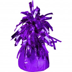 Purple Heavier Foil Balloon Weight
