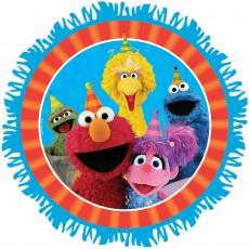 Round Sesame Street Pinatas