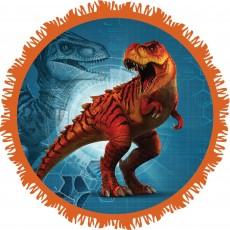 Round Jurassic World Pinatas