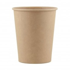 Kraft Paper Cups 266ml Pack of 12